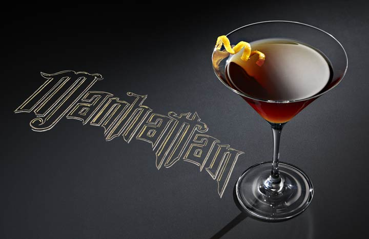 Mahhattan cocktail
