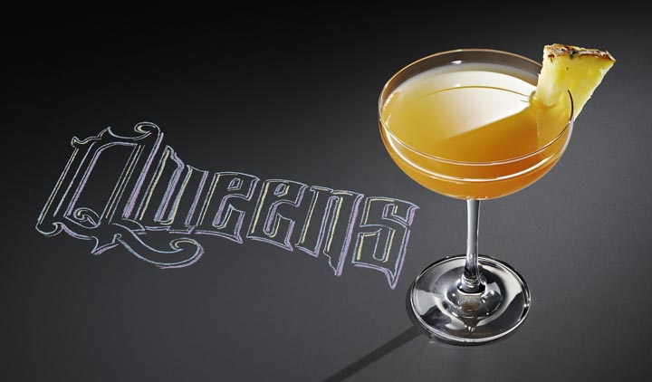 Queens cocktail